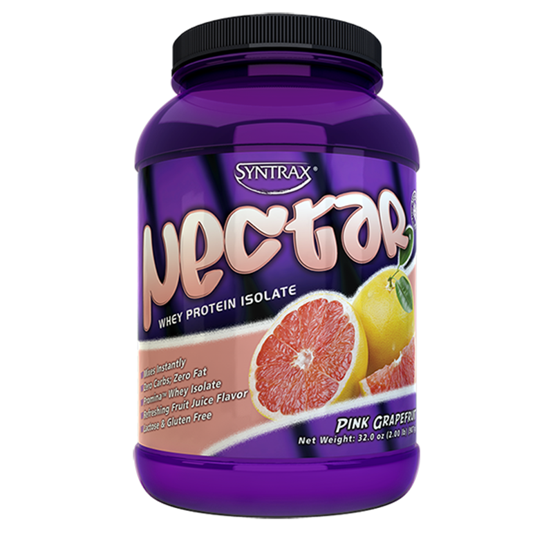 Syntrax Nectar Whey Protein Isolate Pink Grapfruit 907g. (2 lbs)